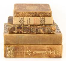 Group of Five 18th C. Books