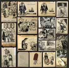 Boileau (American 1902-1994), 16 Illustrations of People