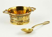 Silver Spoon and Bowl