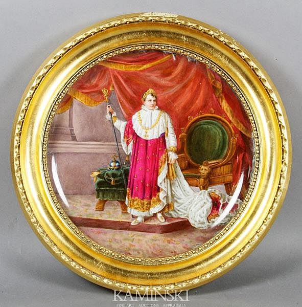 Austrian Porcelain Plaque