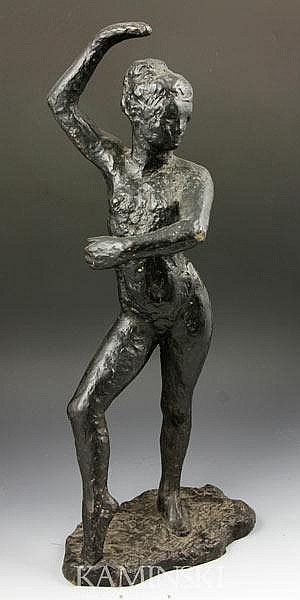 Bronze Nude Dancer