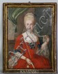 18th C. French Portrait of Woman, O/C