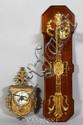 French Gilt Bronze Wall Clock