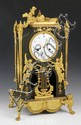19th C. French Bronze Mantle Clock