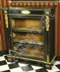 French Ebonized Wood Cabinet