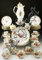 19th C. German KPM Tea Set