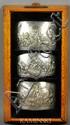 Cortelazzo, 3 Silver Medallions