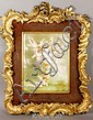 Austrian Hand-Painted Porcelain Plaque