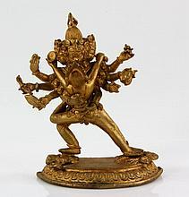 Tibetan Bronze Usnisavijaya
