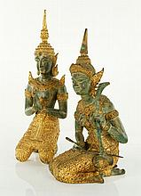 Pair of Thai Figures