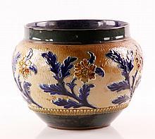 Early 20th C. Doulton Lambeth Flower Pot