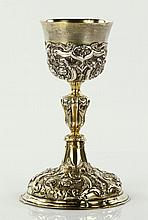 Early Baroque Silver Chalice