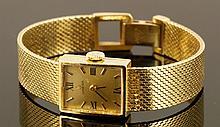 14K Omega Wristwatch