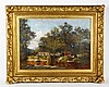 Haseltine, Landscape with Figures, O/C, William Stanley Haseltine, $4,000