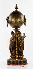 19th C. Paris Bronze Clock
