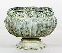 Melon Shaped Urn