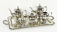Peruvian Sterling Tea Set