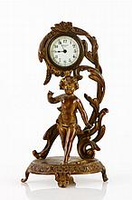 19th  C. New Haven Figural Clock