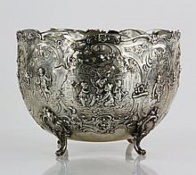 Continental Silver Footed Bowl