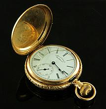 14K American Waltham Pocket Watch