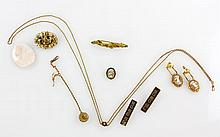 Lot of Victorian Gold Fill Jewelry