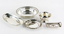 Lot of 5 Pieces of Sterling and Plate Silver