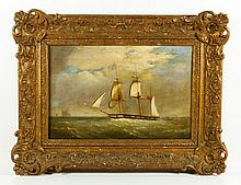 19th C. British Ship Portrait