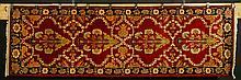 Semi Antique Indian Sarouk Carpet