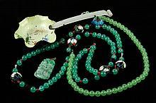 4 Chinese Jade Items