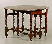18th/19th C. William and Mary Style Table