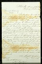 Major General Joseph Hooker's Letter of Resignation