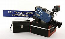 Collection of Rex Trailer's Recording Equipment