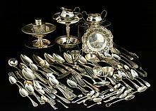 Lot of Sterling and Coin Silver