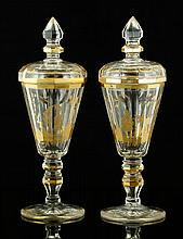 Pr. Bohemian Glass Pokals
