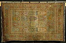 Antique Kashmir Garden Carpet
