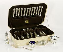 Lot of Silver, Sterling and Silverplate