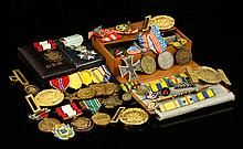 Collection of US and International Military Medals