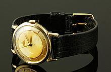 Omega 14K Men's Wristwatch