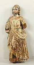 Spanish Colonial Polychrome Figure