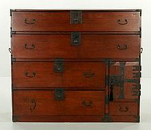 Japanese Tansu Chest