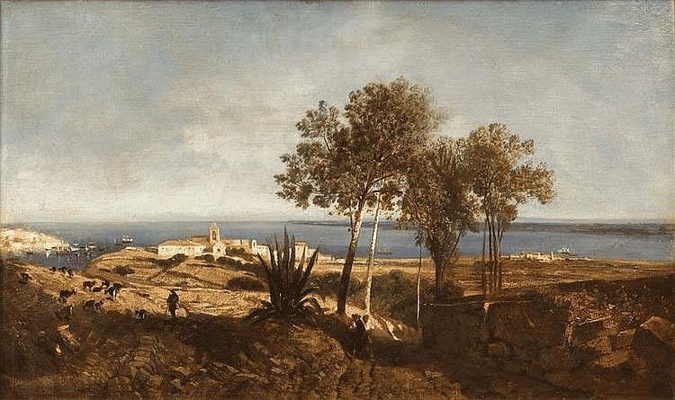 Adrien DAUZATS Paysage