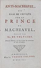 [LITTERATURE]. VOLTAIRE; FREDERIC II (roi