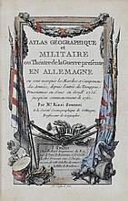 [VOYAGES] [ATLAS] Ensemble de 3 atlas du XVIIIe