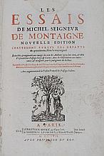 MONTAIGNE (Michel de). Les Essais. Nouvelle