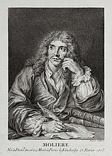 [BOUCHER]. - MOLIÈRE. Œuvres. Paris, s.n., 1734, 6