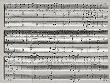 [Musique, chansons]. DU MERSAN. Chants et chansons