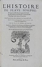 [HISTOIRE]. [LIVRES DU XVIe S.] FLAVIUS