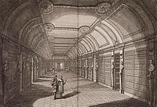 DU MOLINET (Claude). Le cabinet de la bibliothèque