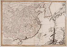 BONNE, JANVIER, RIZZI ZANNONI. Atlas moderne, ou