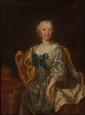 Ecole ALLEMANDE du XVIIIème siècle, suiveur de Martin van MYTENS Portrait de l'impératrice Marie Thérèse d'Autriche Toile Dimension : 44 x 34 cm